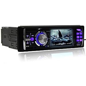 AUTORADIO MP5 4 X 50W SUPPORT SD/MMC/USB 2.0 NOIR