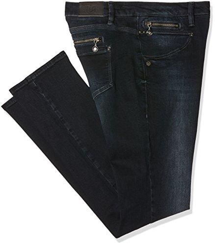 Freeman T. Porter Alexa Slim Sdm, Jeans Donna, Nero (Emblem F0372), W34/L34