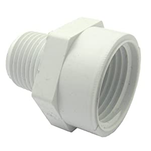 15-1635 PVC Hose Adapter with 3/4-Inch Female Hose Thread and 1/2-Inch