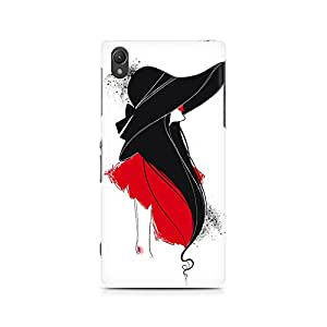 MOBICTURE Girl Abstract Premium Designer Mobile Back Case Cover For Sony Xperia Z2 L50W
