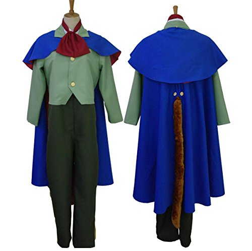 [makura Men's 2462Disney Pinocchio foul Fellow Cosplay (M)] (Pinocchio Adult Costumes)