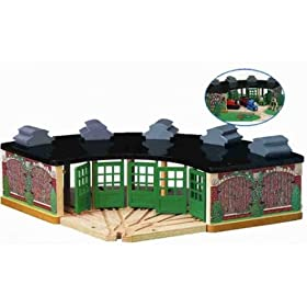 Wooden Thomas & Friends: The Engine Shed