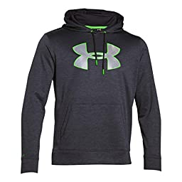 Men\'s Under Armour Storm Armour Fleece Twist Hoodie, Stealth Gray (008), Small