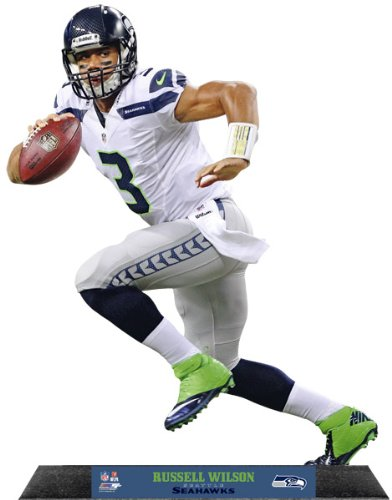 Russell Wilson Seattle Seahawks Standz Photo Sculpture at Amazon.com