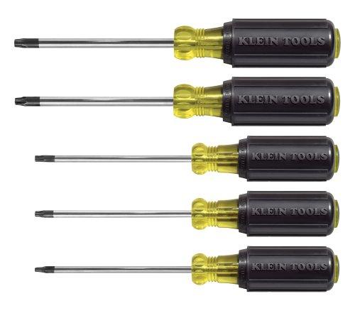 klein tools 19555 5 piece torx screwdriver set coconuas82. Black Bedroom Furniture Sets. Home Design Ideas