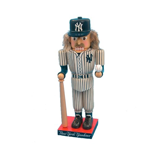Kurt Adler 14-Inch New York Yankees Baseball Player Nutcracker at Amazon.com