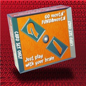 GO mental FUNDAmental Card Set Only - Buy GO mental FUNDAmental Card Set Only - Purchase GO mental FUNDAmental Card Set Only (HL Games USA Limited, Toys & Games,Categories,Games,Board Games,Word Games)