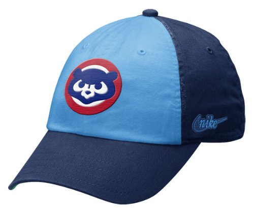 Chicago Cubs Women's Light Blue Cooperstown Relaxed Adjustable Hat by Nike
