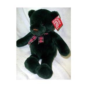 "Gund Christmas Bear Evergreen #8824 13"""