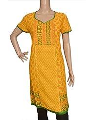 Adaa Casual Half Sleeve Printed Women's Kurti - B00S3MBJ4I