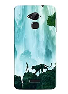 Clarks Jungle Book Inspired Hard Plastic Printed Back Cover/Case For Coolpad Note 3