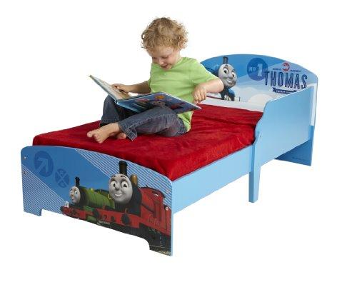 Thomas Le Train 864717 Lit Bois Bleu 145 x 77 x 59 cm