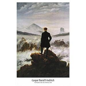 1art1 50704  Poster con immagine del Viandante sul mare di nebbia, di Caspar David Friedrich, 91 x 61 cm   recensioni dei clienti Valutazione