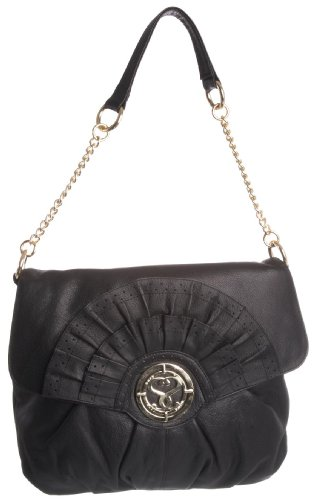 Suzy Smith Womens ZB002837GL Handbag Black