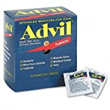 Advil Tablets Pain Reliever Refill, 50 Two-Packs per Box