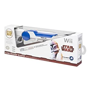 Official Star Wars: Clone Wars Trooper Blaster