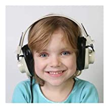 Califone CLS729-4 4-Person Wireless Headphone Learning System, Green