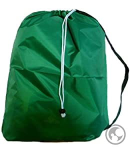 Large Laundry Bag With Drawstring And Strap