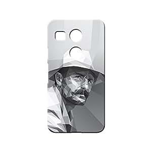 BLUEDIO Designer 3D Printed Back case cover for LG Nexus 5X - G0857
