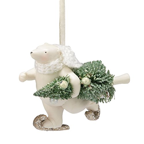 Snowbabies Department 56 Snowbabies Dream Collection Polar Delivery Ornament, 3.25-Inch