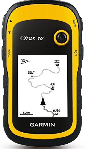 Garmin ETrex 10 Outdoor Handheld GPS Navigation Unit - One -