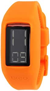 Breo Unisex-Armbanduhr Block Digital Quartz Silikon B-TI-BLK1