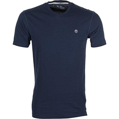 Timberland -  T-shirt - Uomo Dark Sapphire Medium