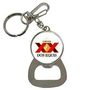 dos equis mexican beer logo bottle opener key chain everything else. Black Bedroom Furniture Sets. Home Design Ideas