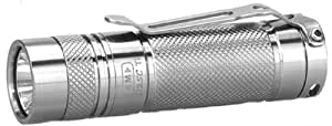 EagleTac D25C Clicky Titanium Neutral White XM-L2 LED Flashlight