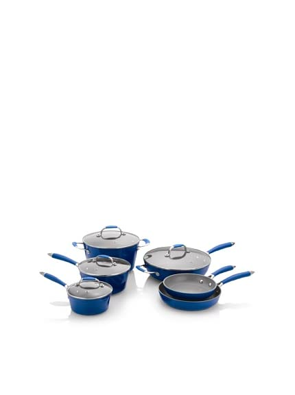 Fagor Michelle B. 10-Piece Induction Ready Forged Aluminum Cookware Set