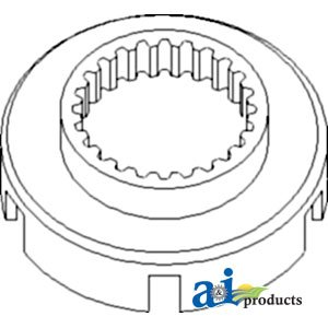 A & I Products Drum, Low/High Range Replacement for John Deere Part Number R3...