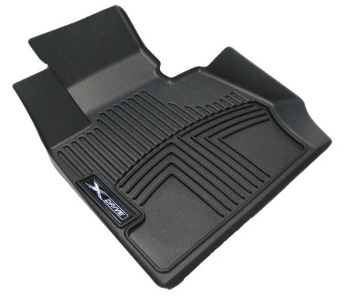 Bmw All Weather Front Rubber Floor Liner Mats X6 2008