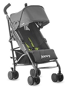 Joovy Groove Ultralight Lightweight Travel Umbrella Stroller, Charcoal