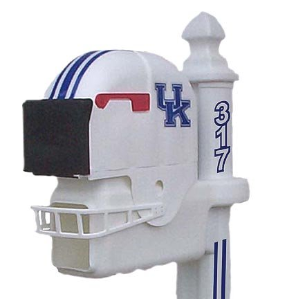 Kentucky Wildcats Helmet Style Mailbox at Amazon.com