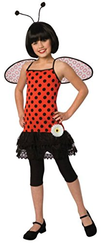 Girls Love Bug Kids Child Fancy Dress Party Halloween Costume