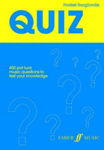 Pocket Songs: Quiz (Pocket Songbook), Buch