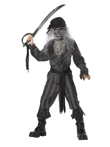 California Costumes Boys Ghost Ship Pirate Costume with Mask
