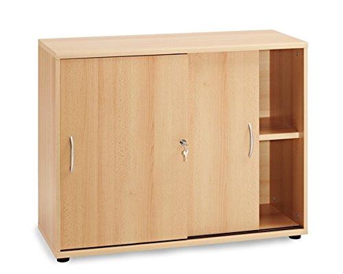 Broeinrichtung-Brombel-Bro-Buche-hell-Eckschreibtisch-Brocontainer-Aktenschrank-Regal-Schreibtisch-Schiebetrenschrank-76-cm