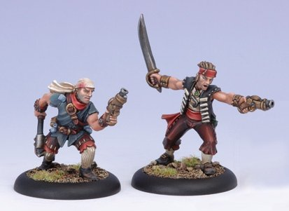 Privateer Sea Dogs (2 Models) Warmachine