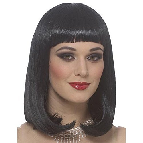 Women's Black Peggy Sue Costume Wig