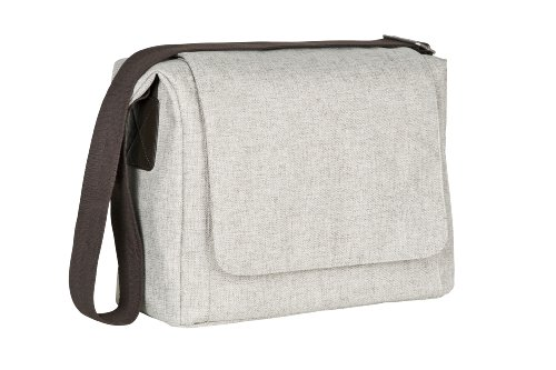 Lassig Green Label Small Messenger Diaper Bag Update, Choco melange