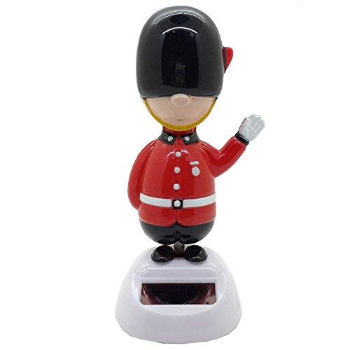 Fun Novelty Solar Pal Guardsman British Queen's Guard