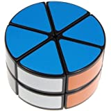 Diansheng 2-layered Cheese UFO Black Cube Round Column Puzzle Cube