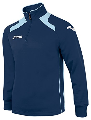 Joma Champion Ii Felpa, Navy Blue/Blu (Marino/Celeste), M