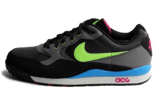 753a605801991 Nike Men s Air Wildwood LE Black Flash Lime Dark Grey Lifestyle Shoe 10 5  Men US