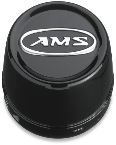 CENTER CAP BLACK SM 4PK (AMS)