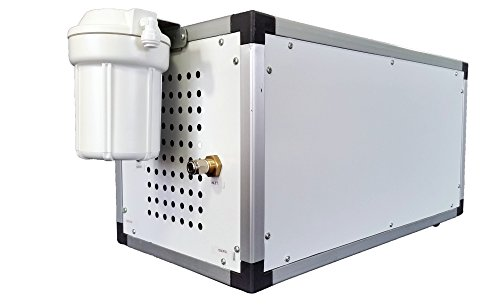 Landscape Fogging System - Adding a Tropical Feel and Look in Your Backyard - Cools Surrounding Areas By up to 30 Degrees (4 Riser - 20 Nozzles)