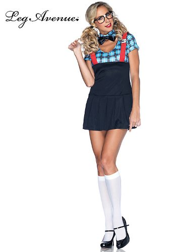 Naughty Nerd Adult Costume - Adult Costumes