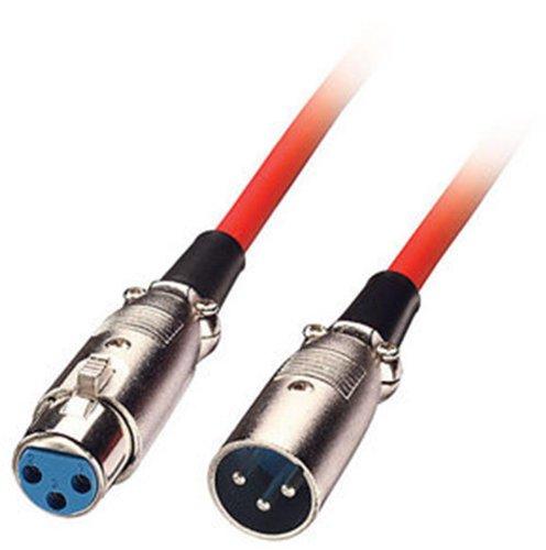 lindy-6046-cable-para-microfonos-xlr-profesional-macho-a-hembra-6-m-color-rojo
