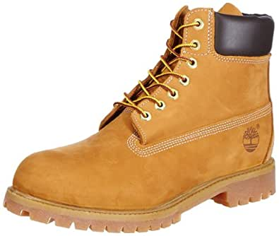 Timberland Premium Wheat Classic 6 inch Men's Nubuck Leather Ankle Boots 10061-UK 6.5